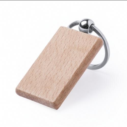 Portachiavi personalizzato legno