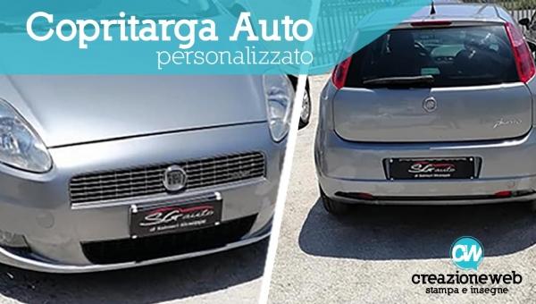 Copri Targa Auto Personalizzati