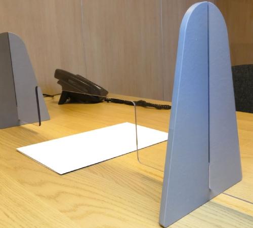 Barriera Parafiato in plexiglass