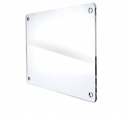 Targa Plexiglass Angoli Smussati 30x20cm